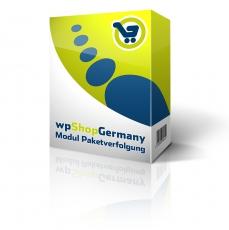 wpShopGermany-Modul Paketverfolgung